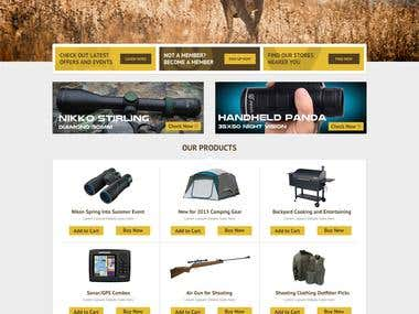 Arabian Hunter Website