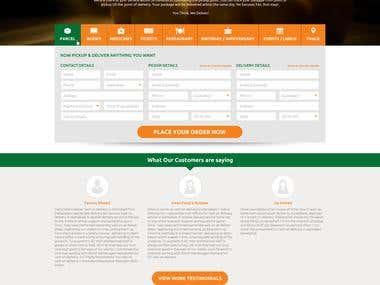 Website Design for Delivery Ten
