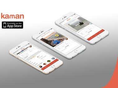 Kaman Mobile Application (iOS)