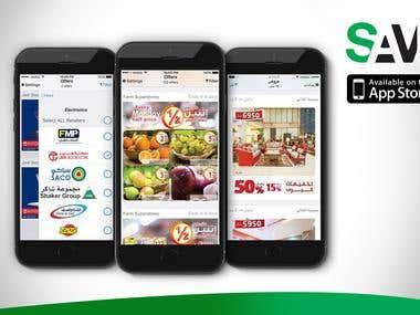 Savi ME Mobile Application (iOS)