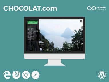 CHOCOLAT - Wordpress Website Maintenance