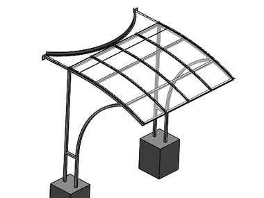 Freestanding Canopy