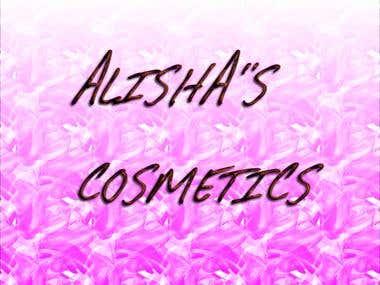 ALISHA'S COSMETICS LOGO
