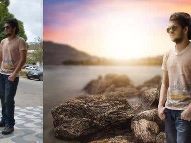 Photo retouch manipulation