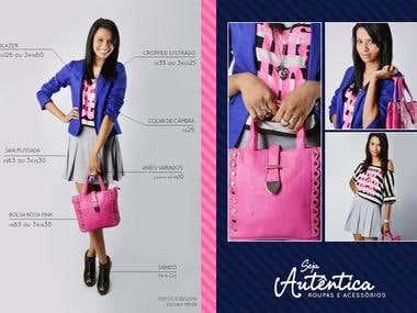 Fashion catalogue design + Photography