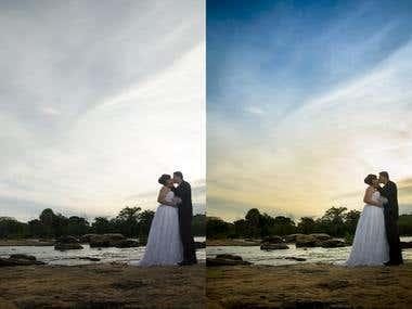 Image retouch manipulation + Photography