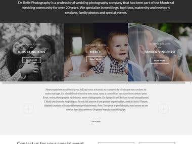 CMS WordPress Photography