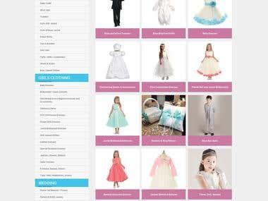 Children Shopping Site