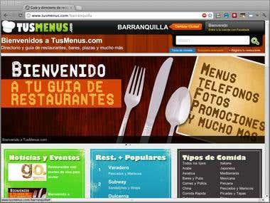 Tusmenus - Restaurant and Menus