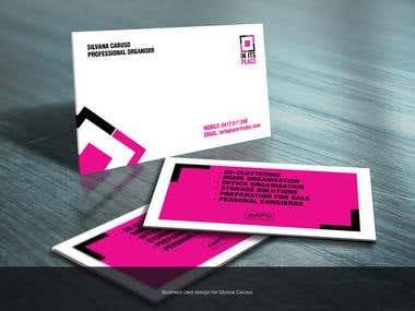 Silvana Caruso Business Card