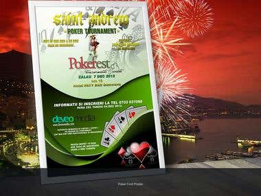 Pokerfest Poster