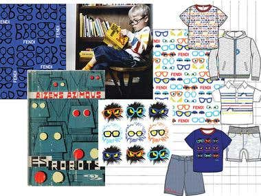 Fashion Design Moodboard - Boyswear