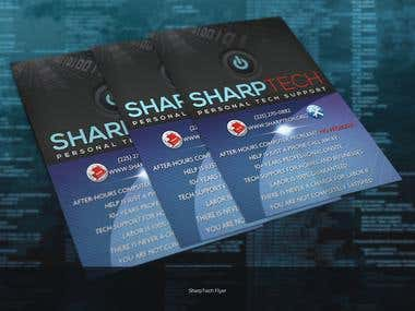 Sharptech Flyer