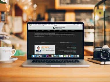 """CREACIÓN DE PÁGINA WEB """"WWW.FRANFYB.COM"""""""