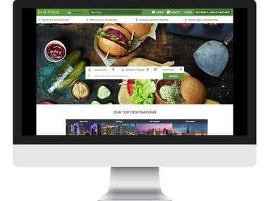 Online Restaurant Venue Application