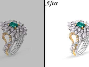 Jwellery Editing