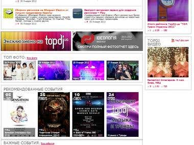 http://topdj.ua/ - the main club portal of Ukraine.