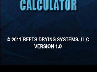 ReetsDryCalc - Reets Drying Psychrometric