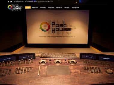 Post House Studio - Website