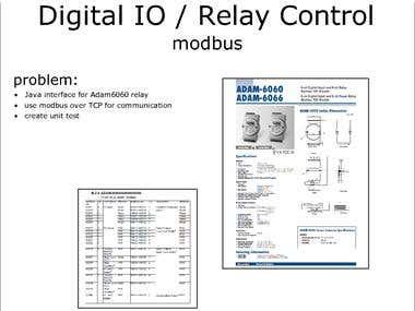 Digital IO / Relay Control