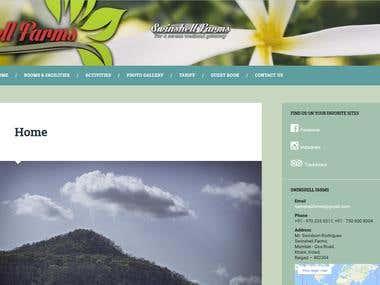 Swinshell Farms - Website