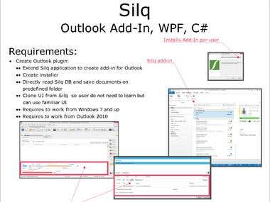 Silq Outlook Add-in