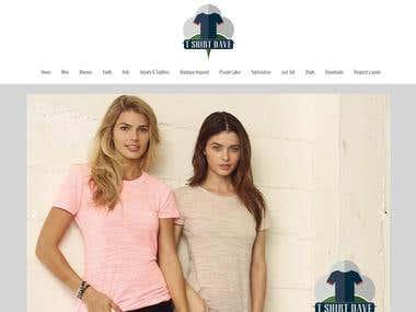 TShirt Dave - Website