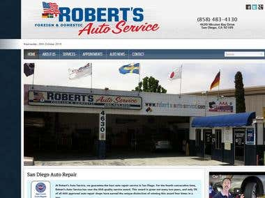 Its an web site which provides auto services