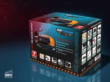 Label and package design / 3D rendering / Adobe Illustrator