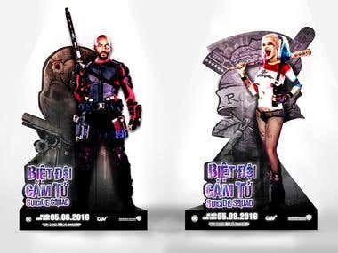 P R O J E C T : SUICIDE SQUAD Movie Promotional
