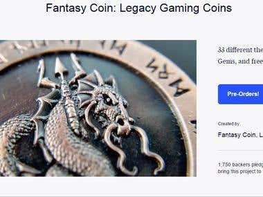 Fantasy Coin: Legacy Gaming Coins