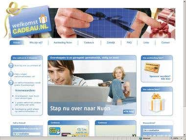 Diseño de portal para Holanda