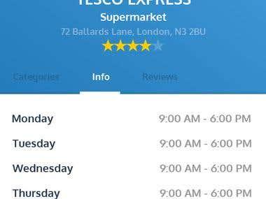 IntShop app