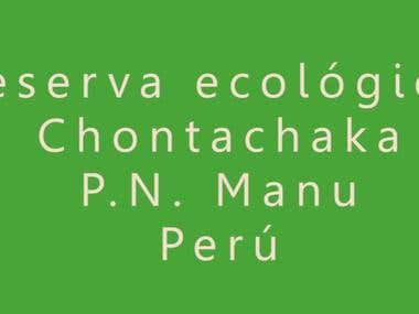 Short Documentary film about a Peruvian ecological reserve