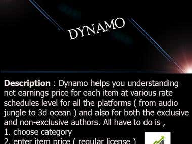 Dynamo - Dynamic Calculator