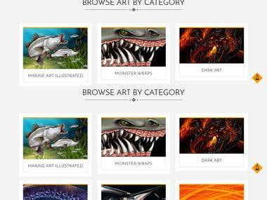 Screenshot of Graphicwraps Australia Website