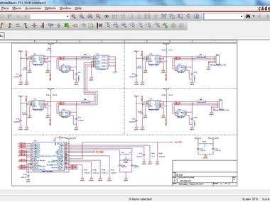 Design schematic and PCB on orcad and Allegro