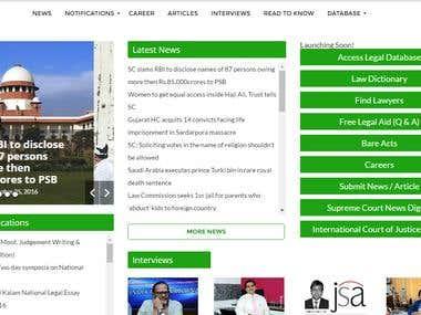WordPress Website Redesign and development
