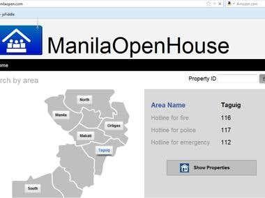 Manila Open house