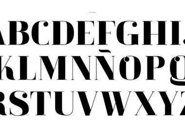 Fabiola Typeface