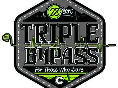 Triple Bypass Logo/Jersey Designs