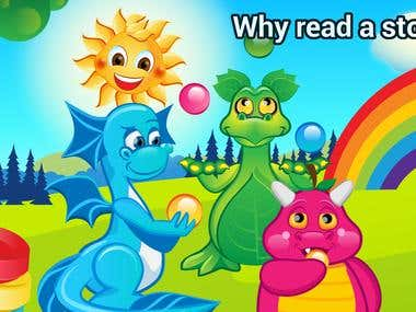 Candy Dragons Adventures puzzle Gapp App