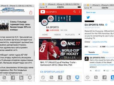 Blog News app