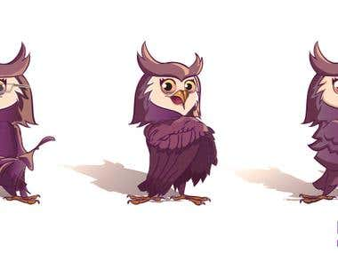 Mascot Owlimpia