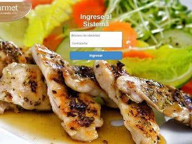 Gourmet - Restaurant Admin System