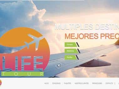Life Tour Agency - Web Site