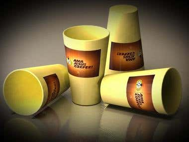 3D Models Gift Cups