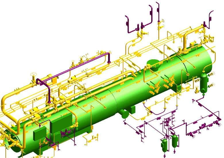 GAS PLANT UNIT - PDMS | Freelancer