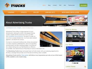 Advertising Trucks
