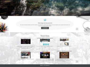 Webterium - web design and development company website